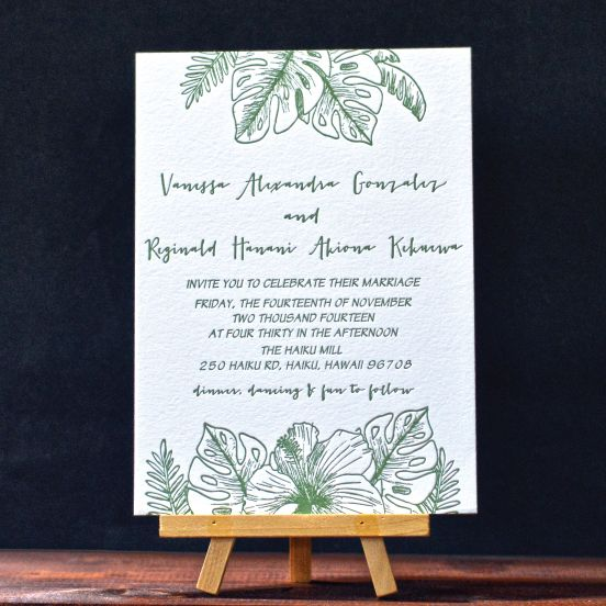 The  Best Formal Letterpress Wedding Invitations Ideas On