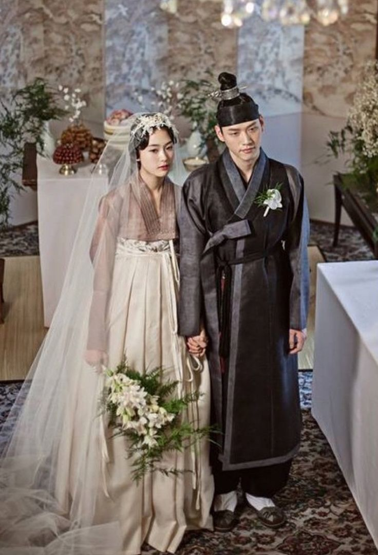 Korean cultural costume #Hanbok