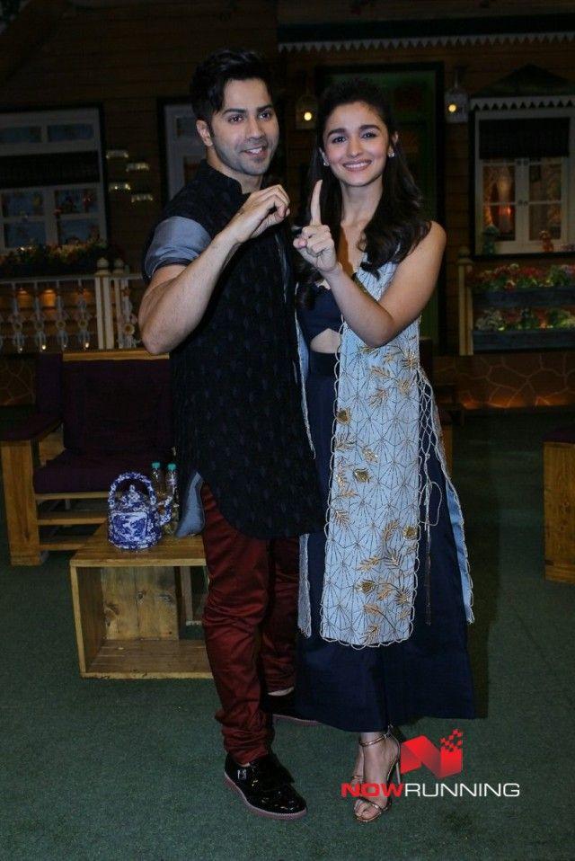 Varun & Alia promote Badrinath Ki Dulhania on The Kapil Sharma