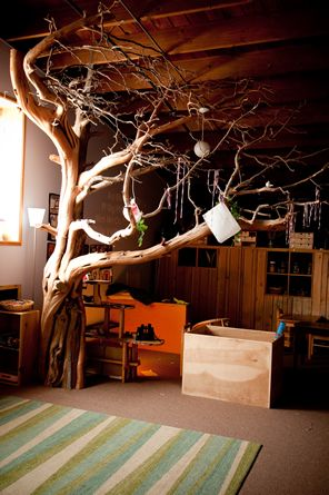 "They take the concept of ""natural classroom"" to a whole new level at ChildRoots Center in Portland, OR www.childroots.com"