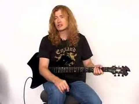 ▶ Dave Mustaine - Guitar Lesson - YouTube