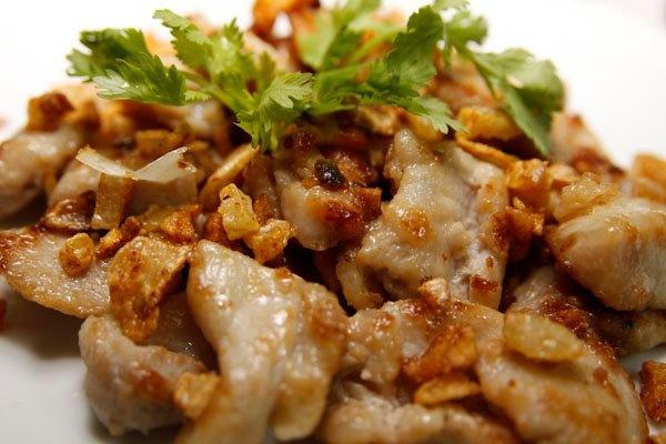 Crispy Fried Pork with Garlic