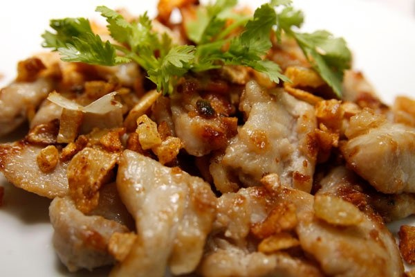 Crispy Fried Pork with Garlic
