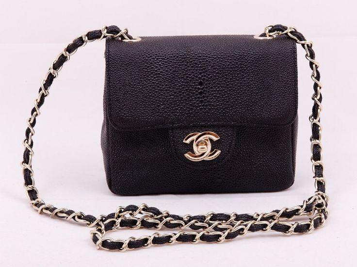 Небольшая сумочка Chanel из натуральной кожи с выделкой под змею. Размер 20x16x7cm #19586