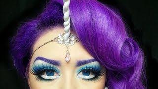 my little pony makeup tutorial - YouTube