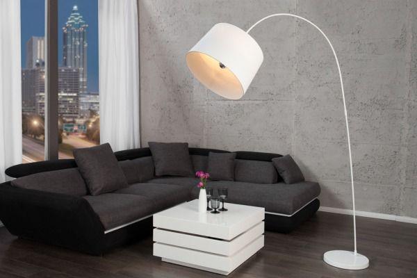 Lampa Podłogowa White Doro