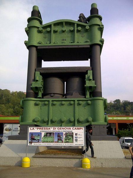 Pressa idraulica di Campi - Genova