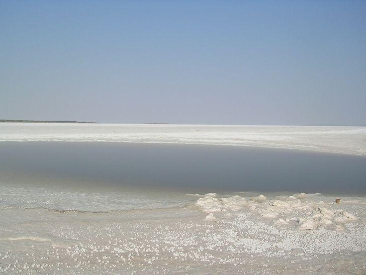 The Great Rann of Kutch (world's largest salt desert) in Gujarat