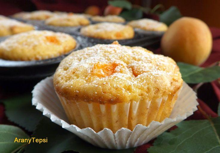 AranyTepsi: Sárgabarackos-joghurtos muffin