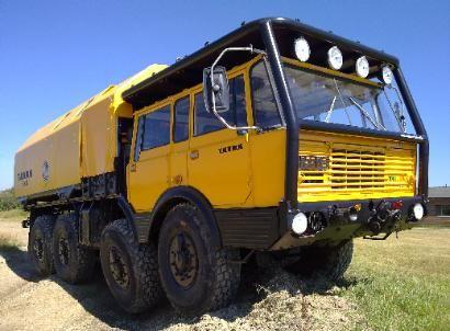 Tatra Expedition Truck.