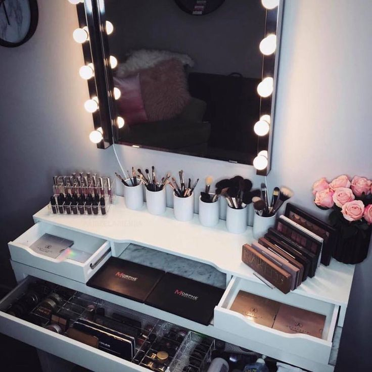 makeup room ideas #Makeup (make up stations)