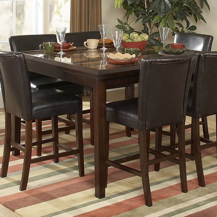 Homelegance 3276 36 Belvedere Counter Height Dining Table, Espresso Buy  This And Cut The
