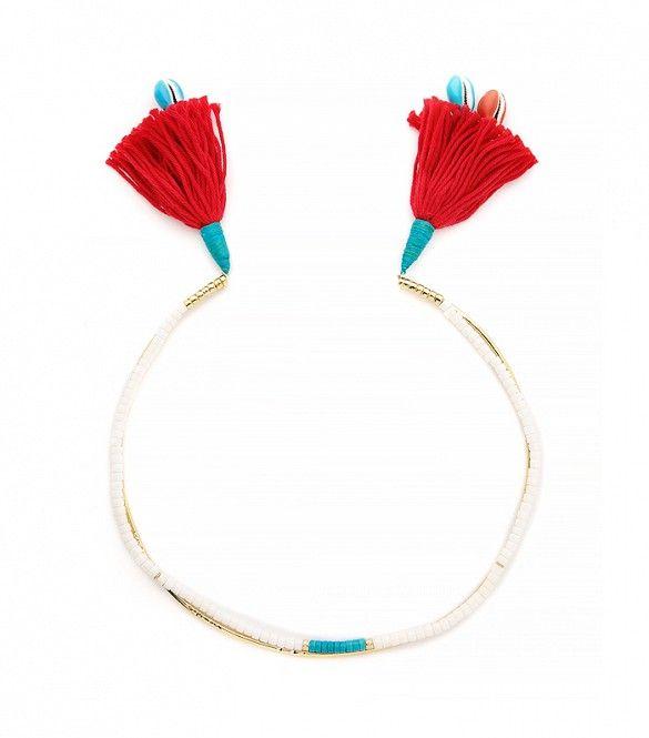 Aurelie Bidermann Tassel Necklace
