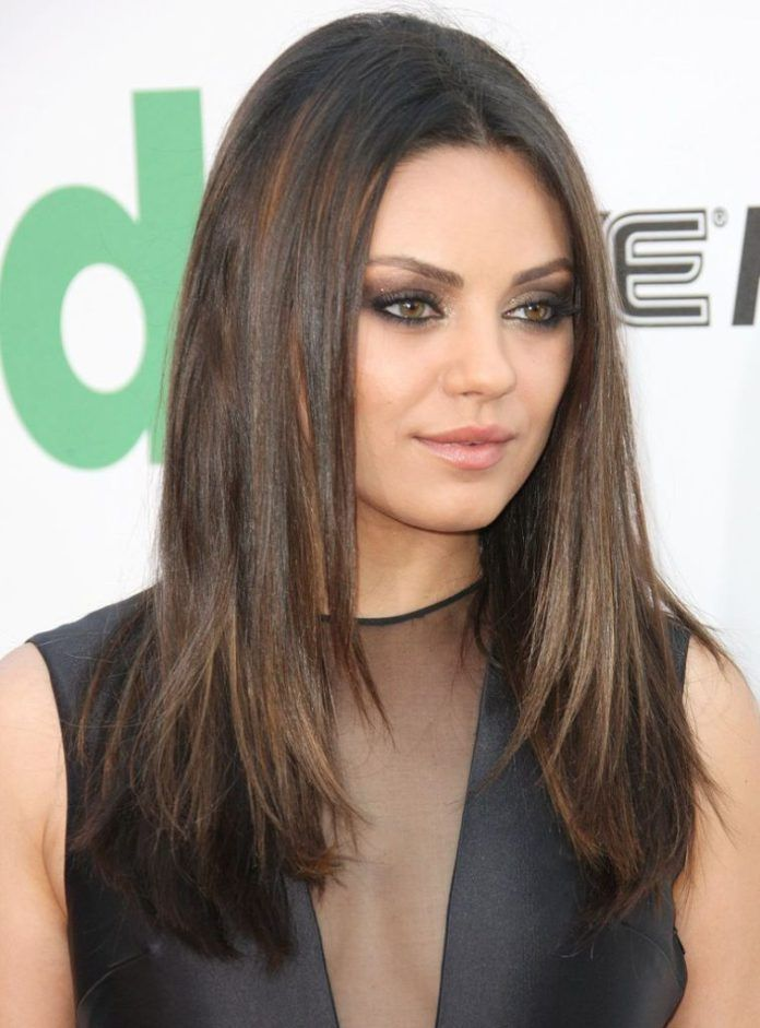 15 Long Hairstyles For Round Faces Stay Calm And Style Your Hair