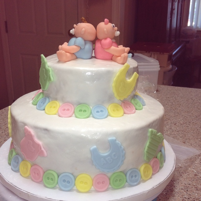 1000 images about baby shower cake for twins on pinterest cakes