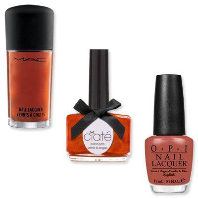 OPI, MAC,and Ciate's Burnt Orange Nail Polishes for Fall 2012Orange Lacquer, Fall Nails, Orange Polish, Burnt Orange, Orange Mani, Makeup, Fall 2012, Orange Nails, Beautiful Things