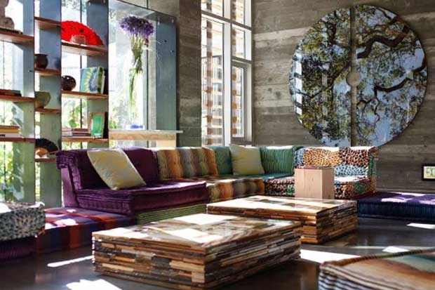 Hipster and chic The best of rustic and posh California Home