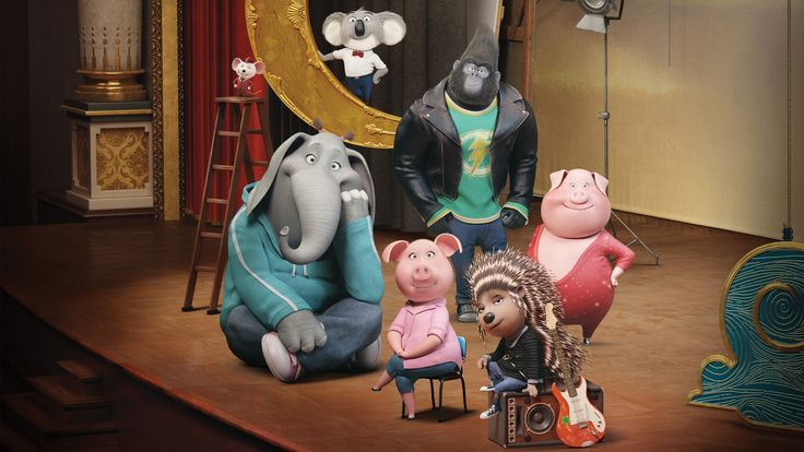== Sing == A koala named Buster recruits his best friend to help him drum up business for his theater by hosting a singing competition.