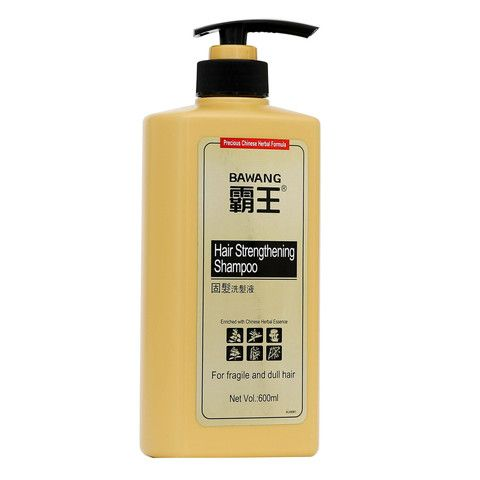 Hair Strengthening Shampoo with Chinese herbal extracts