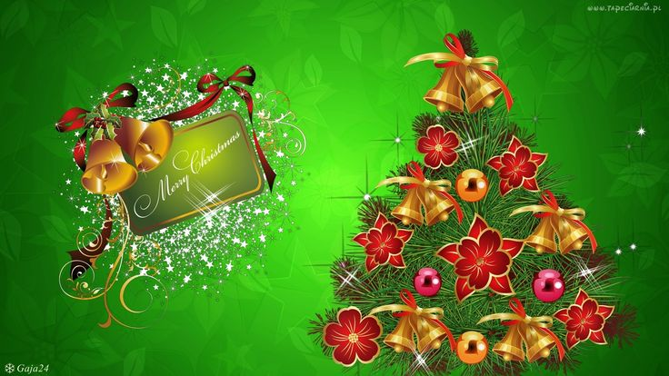 Świąteczne, Życzenia, Choinka, Boże Narodzenie