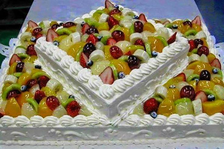 Il Blog di Cinzia Bois: Torta alla frutta con panna