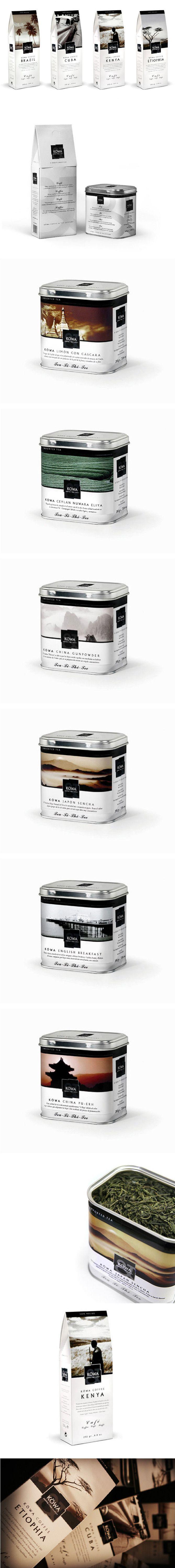 Jako, że ostatnio jestem miłośnikiem herbaty sypanej, nie mogło tu zabraknąć i takiej identyfikacji wizualnej marki :)
