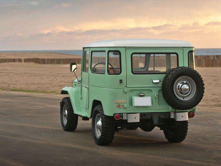Want A Radical Adventuremobile? Buy This Toyota FJ40 Land Cruiser | Airows