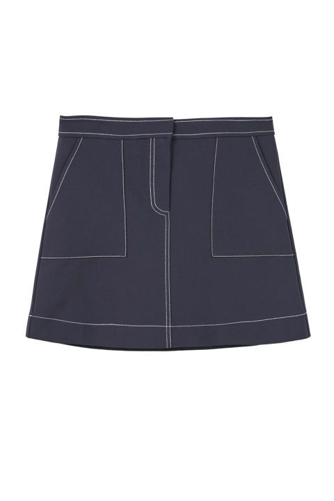 Mango Pocket Cotton-Blend Skirt, $25; mango.com