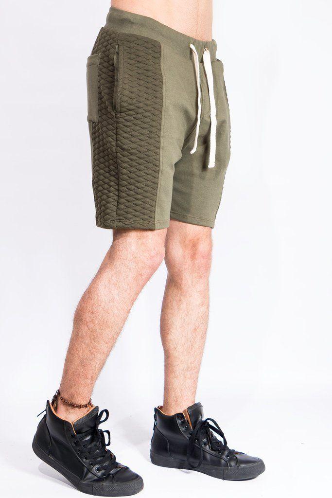 Pantalonetas - Pantaloneta Verde Acolchada