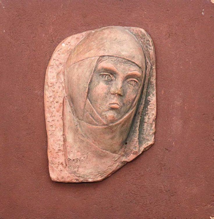 Nasip İyem Seramik Rölyef Pano - Anadolu Kadını - Decorillo | Elit Zevklerin Buluştuğu Adres | Sanat Eserleri