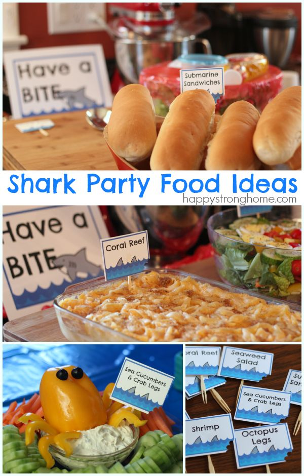 Shark Pool Party Ideas pool party ideas shark treats pool noodles fruit licorice lifesavers Shark Birthday Party Ideas