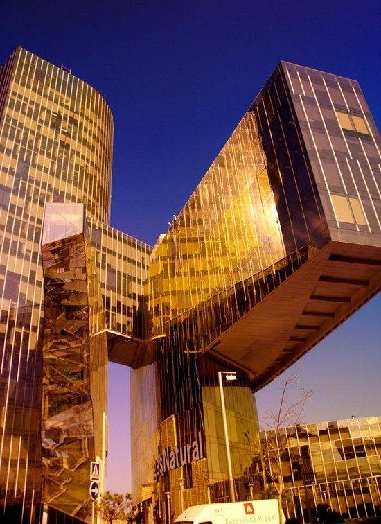 Gas Natural building, Barcelona, Spain