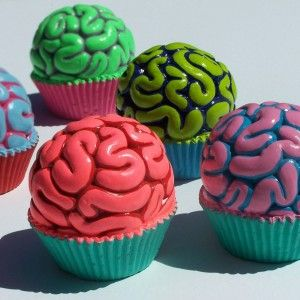 Brain Cupcakes — Dishmaps
