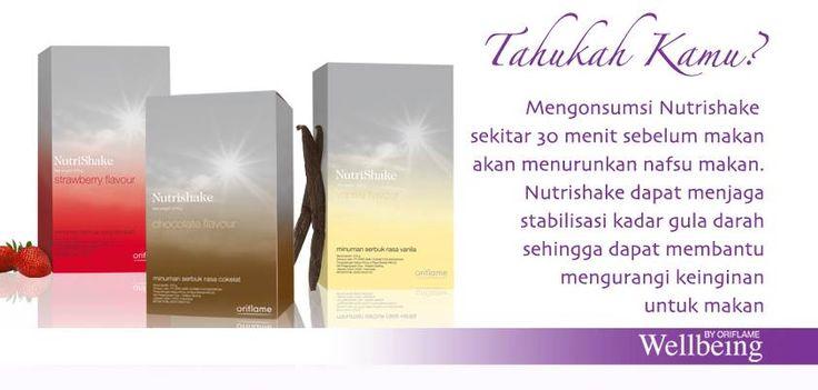 Gaya Hidup Sehat Apa Manfaat Nutrishake? 1. terbukti mengontrol berat badan jika digunakan sesuai the roadmap TM 2. meningkatkan energi dan fokus 3. alami rasa 4. memuaskan rasa lapar 5. melengkapi nutrisi kaya akan protein, serat dan omega3 ada macam-macam rasa lho vanila, strawberry, chocolate.bisa 21 kali penyajian. 378 gr. UNTUK BULAN AGUSTUS GRATIS WELNESS CONTAINER UNTUK SETIAP PEMBELIAN NUTRISHAKE RASA APA SAJA! RP 400.000 hub: merry 085717221400