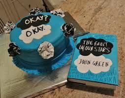 John Green TFIOS cake