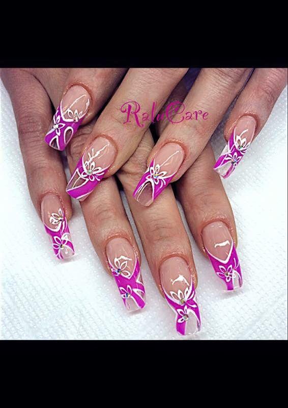 Unghie nails belle effetto vetro ❤️