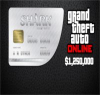 Reward: Grand Theft Auto V Great White Shark Cash Card $1,250,000 EvoBay