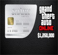 Reward: Grand Theft Auto V Great White Shark Cash Card $1,250,000 EvoBay