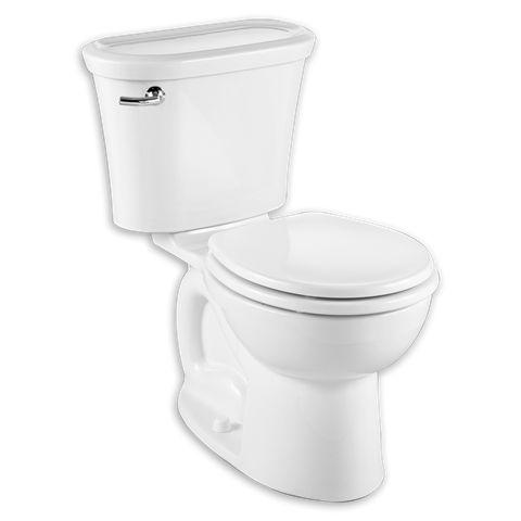 american standard cadet tropic gpf round twopiece toilet finish