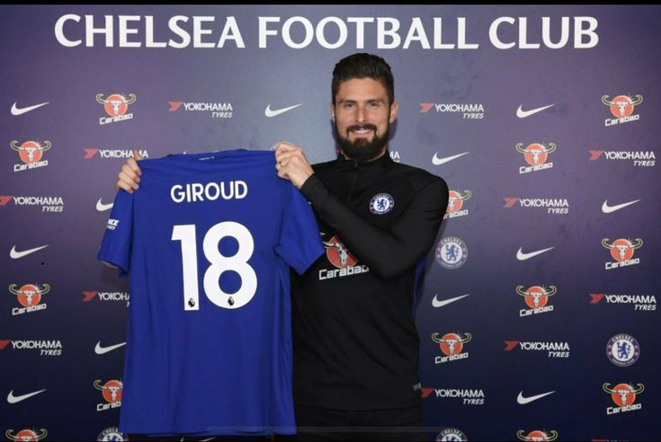 Olivier Giroud Signs for Chelsea (photos) #DeadlineDay