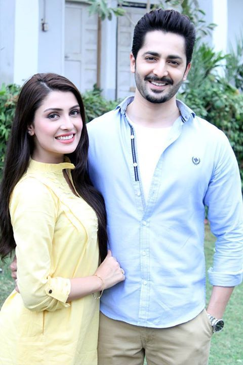 Ayeza Khan n Danish ! New Serial After wedding coming soon