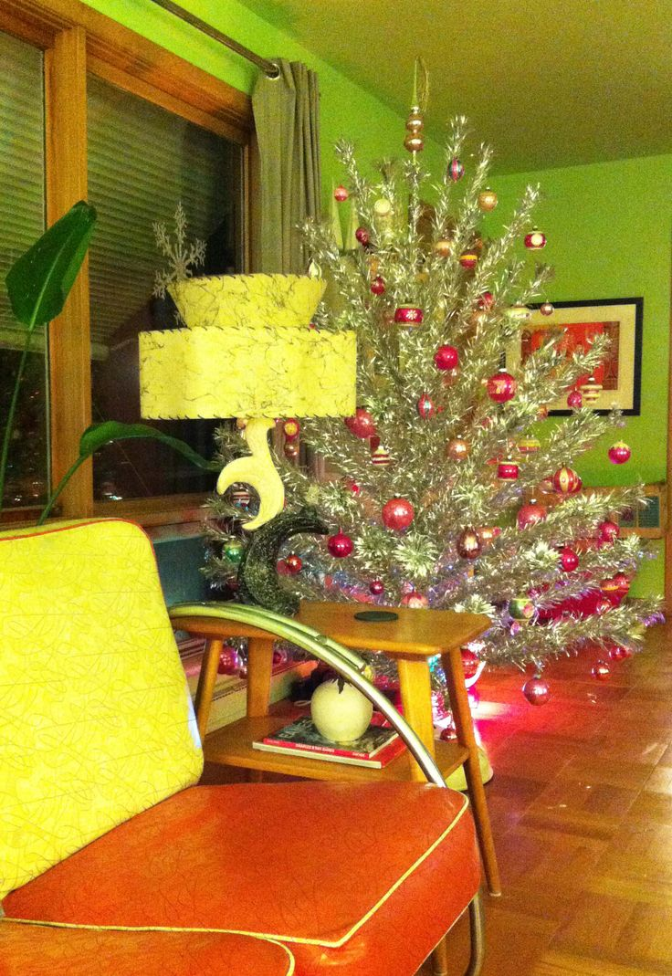 1st Christmas in my 1954 time capsule ranch. -Larissa
