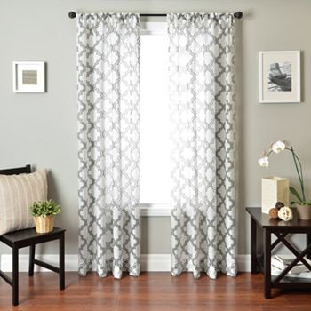 54 best Curtains images on Pinterest Curtains, Window panels and - living room curtains kohls