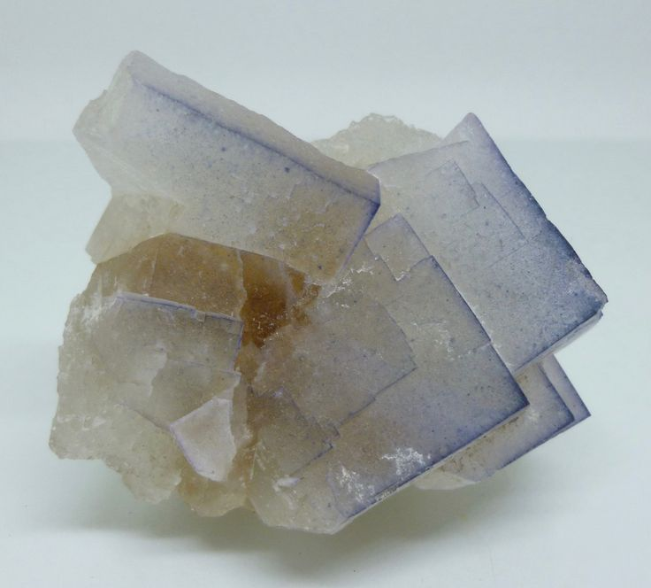 Colour-Zoned Fluorite Crystals – Elbolton Mine, N Yorkshire, England