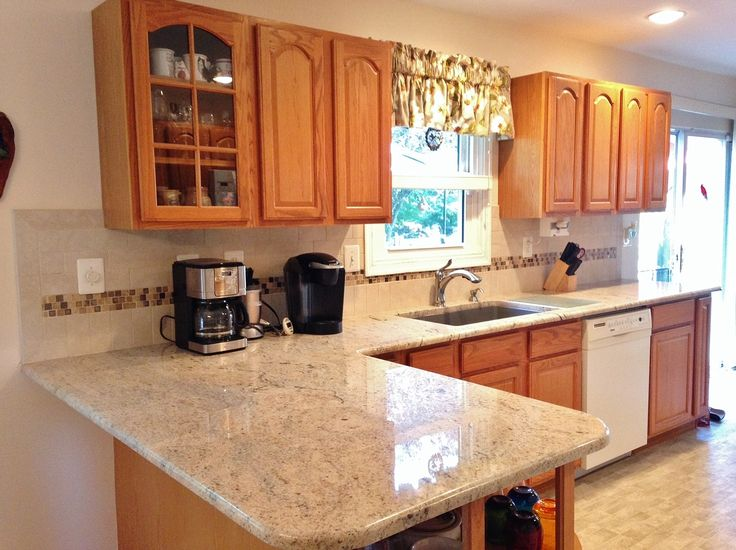 122 best kitchens images on pinterest cherry hill one for Cost to update kitchen cabinets and countertops