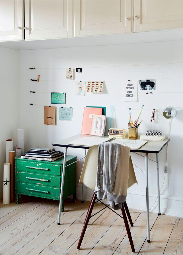 Højt til loftet: indret med køkkenskabe øverst! Lille lejlighed: Grøn oase på 50 kvadratmeter - Boligliv