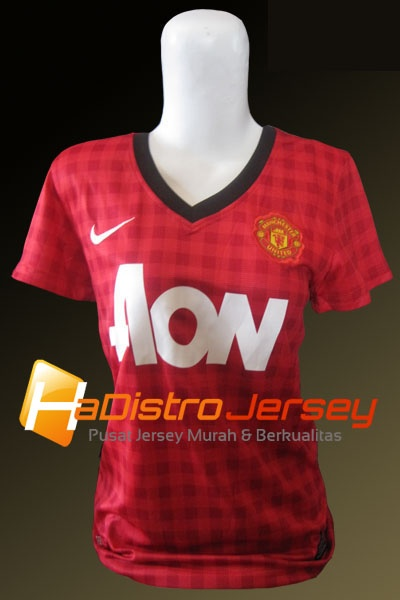 Toko Jersey Bola HADISTROJERSEY menyediakan READY STOK Jersey Grade Ori Jersey Ladies Manchester United Home 2012-2013 $15 http://goo.gl/izsIi