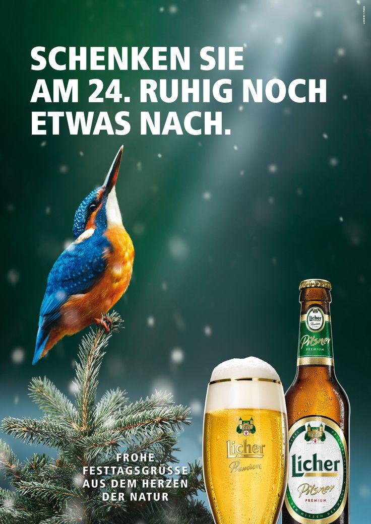 Licher Kampagne Anzeige Weihnachten