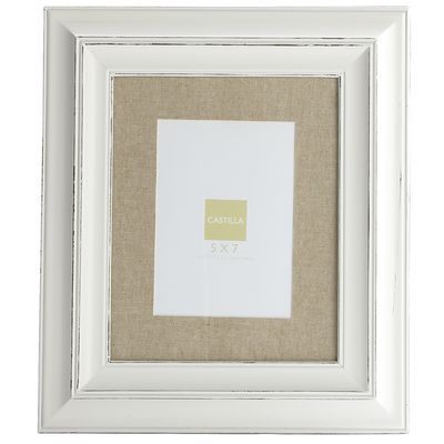 Frame with Linen Mat - 8x10 from Pier 1--need 2 or 3 for over the ...