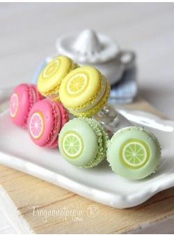 Macaron fruit diy cute